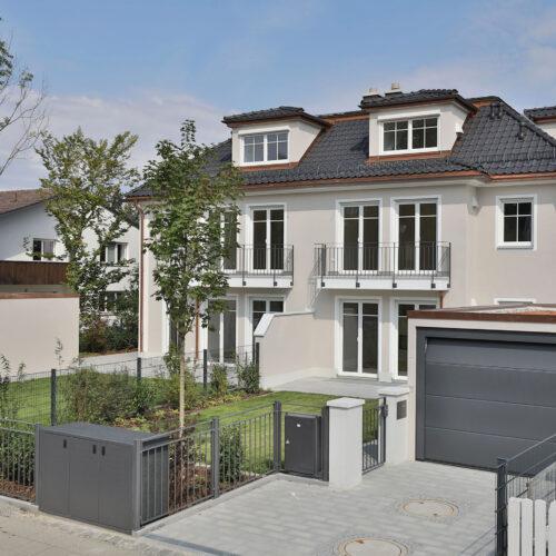 Doppelhaus   München-Ottobrunn   Baujahr 2019