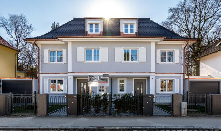 Doppelhaus   München-Pasing   Baujahr 2019