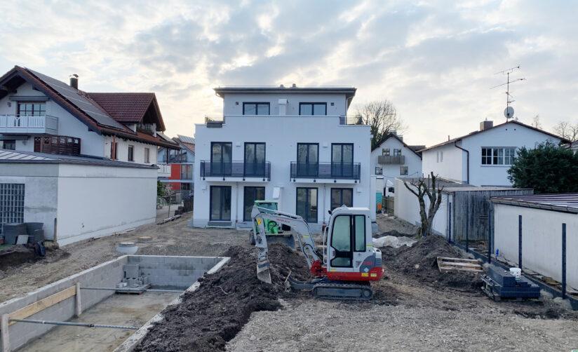 Baufortschritt – Marienburgerstraße
